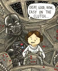 Darth Vader's Little Princess (sample page)